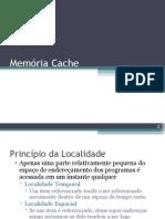 Principio da localidade e memoria cache