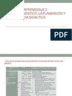 Diagnóstico,Planeacion y Secu Didac