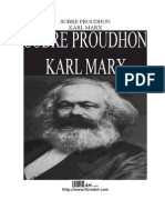 Marx Karl - Sobre Proudhon.DOC