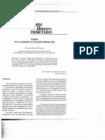 RDT 118 - Crise na Classificação dos  Tributos - Fernando  Gomes Favacho