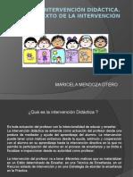 Intervención Didáctica El Contexto de La Intervencion Maricela Mendoza Otero (2)