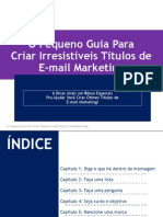 Pequeno Guia Titulos Email