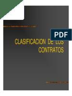 03 Clasificación de Los Contratos