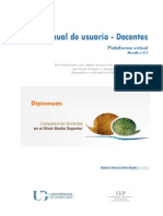 Manual de Usuario - Docentes Versió 1