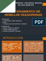 Almacenamiento de SEMILLAS Oleaginosas