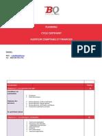 Audit Cac Planning