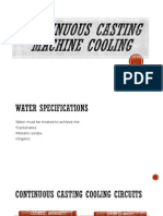 Continuous Casting Machine Cooling