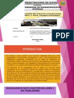 Negociacion de Pacto Colectivo Del Goreu y Sus Trabajadores- Diapositivas