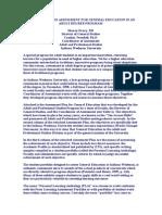 Using Portfolio Assessment for General Education in an Adult Degree Program