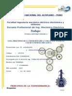 Principios de La Termodinamica y Relacion Entre El Calor y Energia Mecanica.