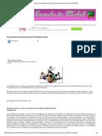Propuesta de La Ley Del Ejercicio de La Profesión Docente _ en La Escuela de Mabel