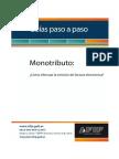 Facturación electrónica de Monotributistas