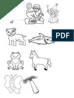 Desenhos e Palavras