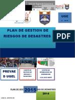 PLAN DE GESTION DE RIESGOS DE DESASTRES