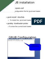 GRUB Installation