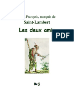 Saint-Lambert Les Deux Amis, Conte Iroquois