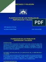 Capitulo_11 PlanifTrabaj PerfVoladura