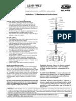 MODEL NR3XL Pressure regulator