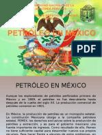 Petróleo en México.