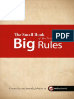 The Small Book of the Few Big Rules OutSystems