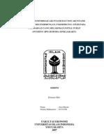 Pengaruh Informasi Akuntansi Dan Non Akuntansi Terhadap Kecenderungan Under Pricing Studi Pada an Yang Melakukan Initial Public