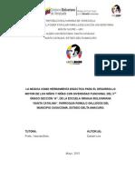 Proyecto Sucre Diversidad Funcional