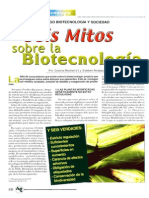Seis Mitos Sobre La Biotecnologia
