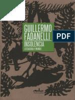 Insolencia_ Literatura y Mundo - Fadanelli