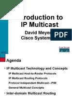 Multicasting pdf ip