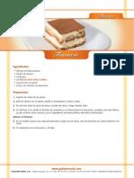 Tiramiss recipe