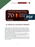Las Setenta Semanas de Daniel