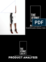 the iconic campaign analysis