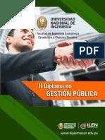 Diploma UNI en Gestion Publica y Gobierno1