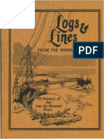 Logs and Lines from the Winnipeg River