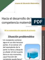 Hacia El Desarrollo de La Competencia Matemática