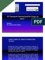 TransporteInternacionalCargaVíaAérea