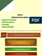 Kelompok 7 Bab 11. Penganggaran Modal Terjemahan