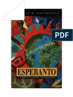 Teach Yourself Esperanto Book