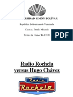 Radio Rochela vs Hugo Chávez de Christian Oliveros