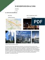 Analisis de Edificios en Altura