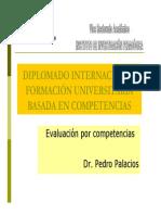 Evaluacion Por Competencias Diapositivas
