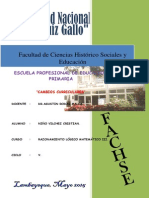 Cambios Curriculares Del Año 2008 PDF