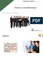 Nic 19 Beneficios de Los Trabajadores