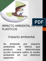 Impacto Ambiental de Los Plásticos