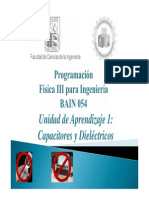 Clase CapacitoresyDielectricos