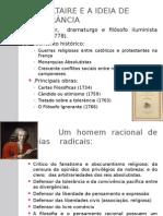 Voltaire e a Ideia de Tolerância