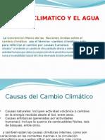 Cambio Climatico y El Agua