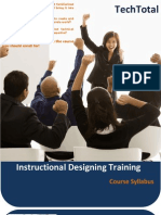 Instructional Designing ID e learning Training Course TechTotal - Hyderabad, Bangalore, Pune, Delhi, Chennai, Mumbai, UK, US, India