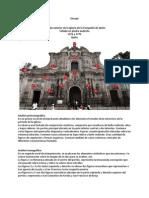 Análisis de La Imagen Según Panofsky, Iglesia de La Compañia de Quito
