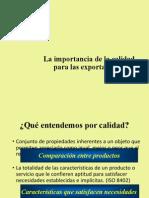 Calidad Para Las Exportaciones Clase 9-1